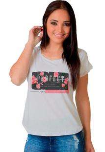 Camiseta Shop225 Perfect Branco - Branco - Feminino - Dafiti