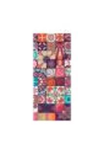 Adesivo Decorativo De Porta - Mandalas - 2417Cnpt