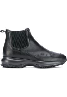 Hogan Ankle Boot - Preto