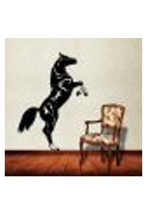 Adesivo De Parede Animais - Cavalo Empinando - Pequeno