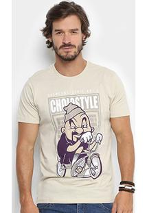 Camiseta Overcore Estampada Series Arts Masculina - Masculino
