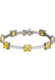 Pulseira Le Diamond Topázio Amarelo