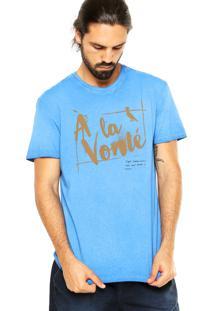 Camiseta Reserva À La Vonté Azul