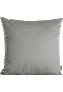 Capa Para Almofada Texturizada- Cinza- 45X45Cm- Stm Home