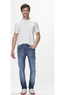 Calça Jeans Slim Puído Malwee