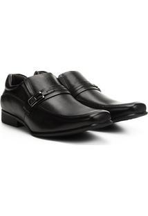 Sapato Social Rafarillo Senna Masculino - Masculino-Preto