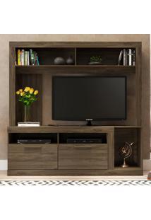 Estante Para Tv Com 2 Portas Carraro - Incolor - Dafiti