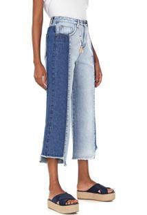Calça Jeans Cantão Pantacourt Reserva Azul