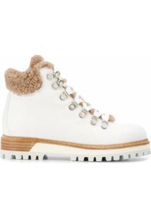 Le Silla Ankle Boots Estilo Caminhada - Branco