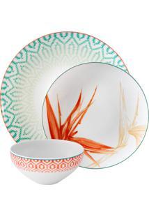 Jogo De Jantar De Porcelana Vista Alegre Fiji - 3 Peças