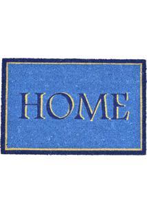Capacho Decorando Com Classe Home Azul