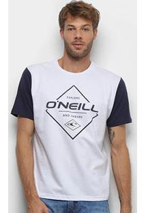 Camiseta O'Neill Endure Masculina - Masculino-Branco