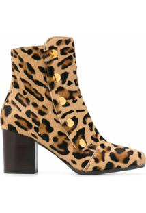 Mulberry Ankle Boot Marylebone - Amarelo