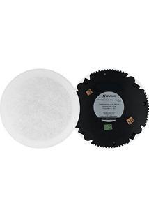 Kit Arandela Redonda 6´´ 80W Com Bluetooth 32022