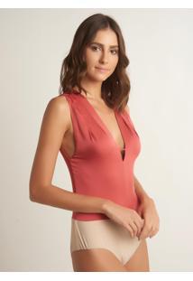 Body Le Lis Blanc Pietra Seda Rosa Feminino (Hot Pink, M)
