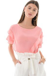Blusa Narci Rosa Neon