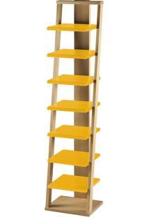 Prateleira Stairway Amarelo