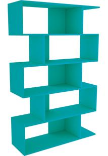 Estante Twister C/ 4 Pés Aqua Tcil Móveis