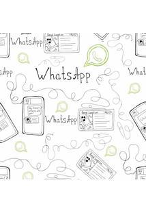 Papel De Parede Adesivo Whatsapp (0,58M X 2,50M)
