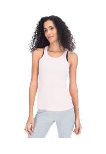 Camiseta Regata Fila Lana - Feminina - Rosa Claro
