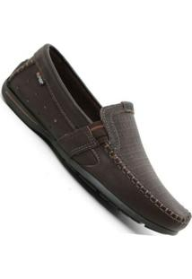 Mocassim Pegada Drive Washed Flother - Masculino