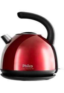 Chaleira Elétrica Classic Vermelha 1270W Philco 127V Phc20V