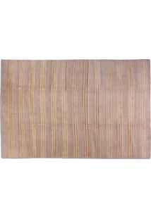 Tapete Hemp Design Stripes Light Grey Peca Unica - 337 X 250 Cm