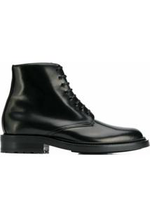 Saint Laurent Bota Army - Preto