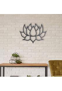 Escultura De Parede A Laser Lotus