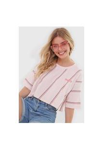 Camiseta Hang Loose Waves Rosa