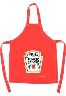 Avental Ketchup 100% Poliéster Passaumpano