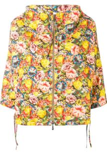 Marni Floral Hooded Jacket - Amarelo