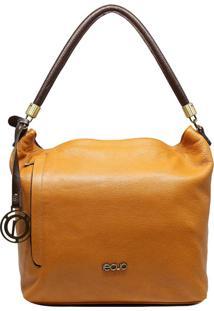 Bolsa Em Couro Recuo Fashion Bag Amarelo