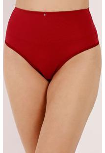 Calcinha Modeladora Feminina Vermelho