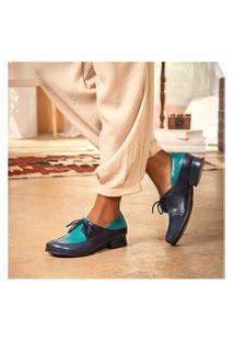 Sapato Mzq Mary Jane Passiflora / Tamarindo 7711