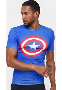 Camiseta De Compressão Under Armour Heroes Masculina - Masculino