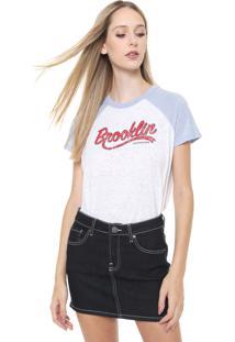 Camiseta Calvin Klein Jeans Brooklyn Branca
