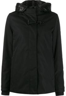 Fay High-Neck Down Jacket - Preto