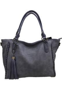 Bolsa Importada Casual Transversal Sys Fashion 2707 Azul