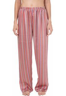 Calã§A Cetim Homewear Listrada - 589.0721 Marcyn Lingerie Pijamas Multicolorido - Multicolorido - Feminino - Dafiti
