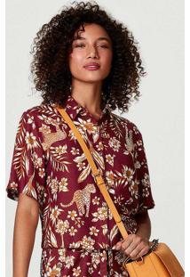 Camisa Feminina Estampada Com Modelagem Box