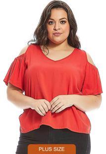 Blusa Secret Glam Vermelho