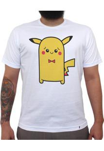 Cuti Pikachu - Camiseta Clássica Masculina