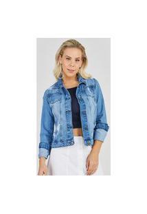 Jaqueta Jeans Express Lorena Azul