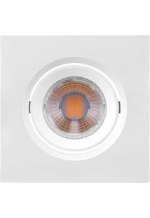 Spot Led Quadrado 3W Bivolt Mr11 6500K Luz Branca