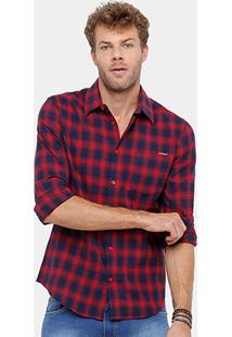 Camisa Xadrez Colcci Masculina - Masculino