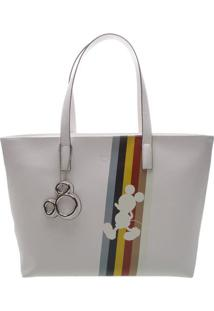 Bolsa Mickey- Branca- 27X14X34Cmarezzo & Co.