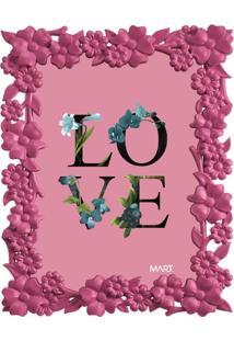 Porta Retrato Mart Love 5510 13X18 Rosa