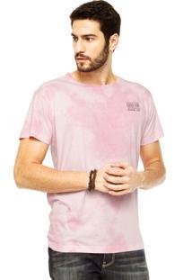 Camiseta Coca-Cola Jeans Positve Rosa
