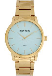 Relógio Mondaine 53608Lpmvde2 Dourado/Azul